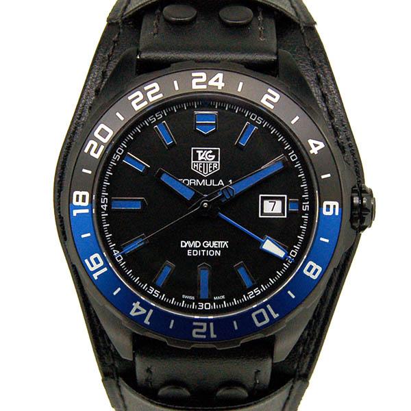 TAG HEUER【タグホイヤー】 フォーミュラ1 デヴィッド・ゲッタ限定 WAZ201A.FC8195 腕時計 ステンレススチール(PVDコーディング)/ステンレススチール(チタニウムカーバイドコーティング) メンズ
