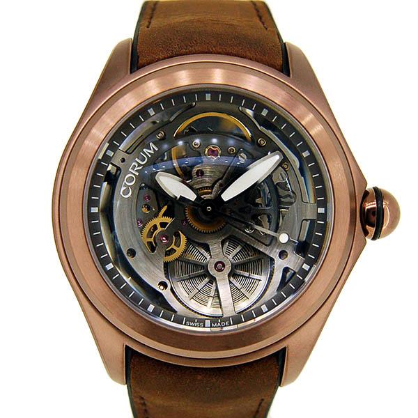 CORUM【コルム】 バブル スケルトン 082.401.98/0062 SQ19 腕時計 ステンレススチール(PVDコーディング)/ステンレススチール(PVDコーティング) メンズ