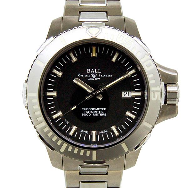 BAL【バル】 エンジニア ハイドロカーボン ディープクエストDM3000A-SCJ-BK 腕時計 チタン/チタン メンズ