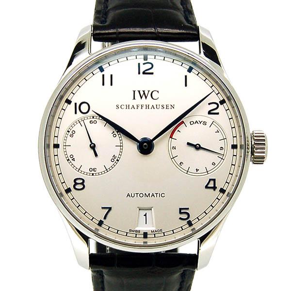 IWC【インターナショナルウォッチカンパニー】 ポルトギーゼ オートマティック 7デイズ IW500107 腕時計 SS/SS メンズ