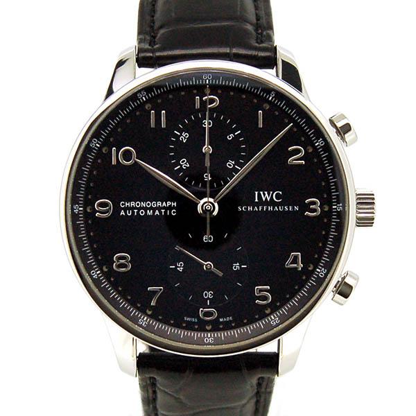 IWC【インターナショナルウォッチカンパニー】 ポルトギーゼ クロノグラフ IW371447 腕時計 SS/SS(ステンレススチール) メンズ