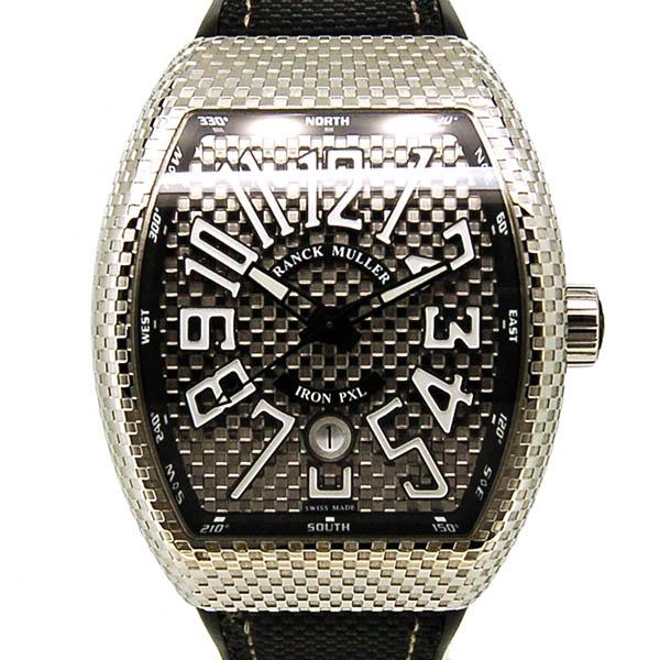 FRANCK MULLER【フランクミュラー】 ヴァンガード アイアンピクセル V45SCDT 腕時計 SS/SS(ステンレススチール) メンズ