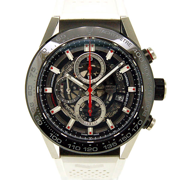 TAG HEUER【タグホイヤー】 カレラ キャリバー ホイヤー01 CAR2A1Z.FT6051 腕時計 SS/SS(ステンレススチール)/チタン メンズ