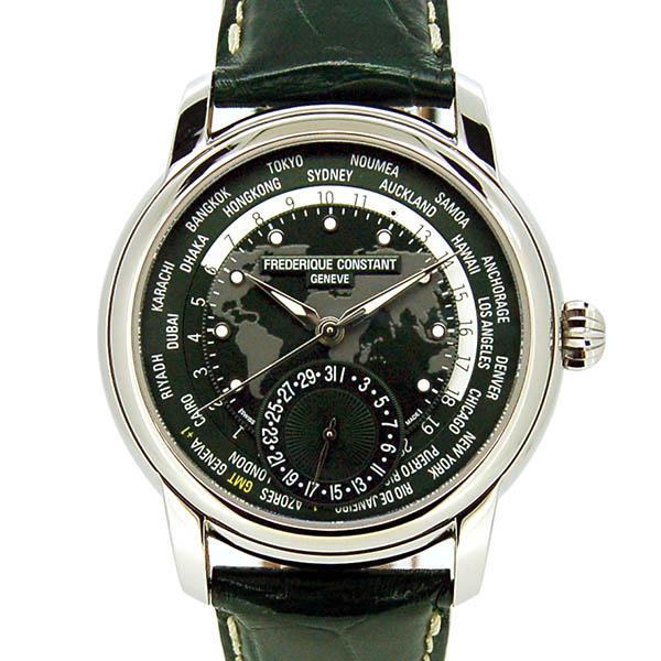 FREDERIQUE CONSTANT【フレデリック・コンスタント】 ワールドタイマー マニュファクチュールFC-718GRWM4H6 腕時計 SS/SS(ステンレススチール) メンズ