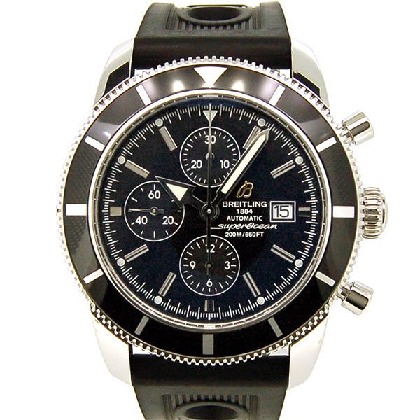 BREITLING【ブライトリング】 スーパーオーシャンヘリテージ クロノグラフ 46A272B08ORC 腕時計 ステンレススチール/ステンレススチール メンズ
