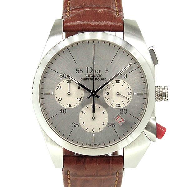 Dior【ディオール】 シフル ルージュ クロノグラフ CD084611 メンズ