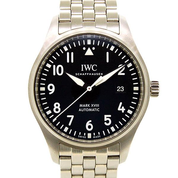 IWC【インターナショナルウォッチカンパニー】 パイロットウォッチ マーク18IW327011 腕時計 ステンレススチール/ステンレススチール メンズ
