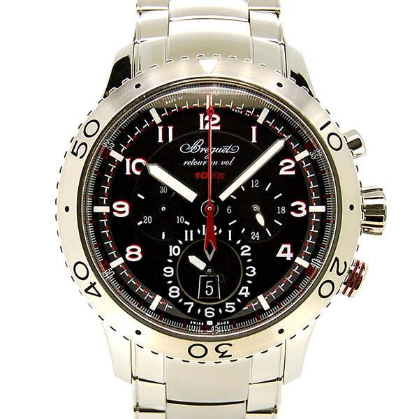 Breguet【ブレゲ】 トランスアトランティック Type22 3880ST/H2/SX0 腕時計 SS/SS(ステンレススチール) メンズ