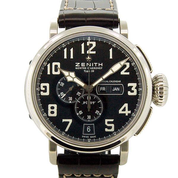 ZENITH【ゼニス】 03.2430.4054/21.C721 腕時計 SS メンズ
