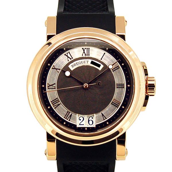 Breguet【ブレゲ】 マリーン2 ラージデイト 5817BR/Z2/5V8 腕時計 /K18RG(ローズゴールド) メンズ