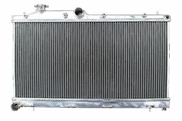 【沖縄・離島への配送不可】2層42mmアルミラジエーター スバル インプレッサ EJ15 GG2
