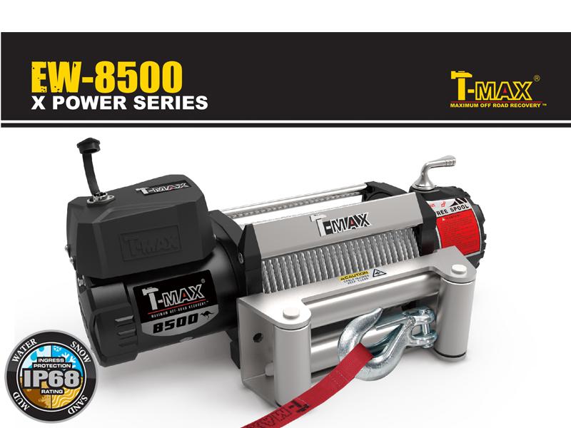 T-MAXハンマーマックス 電動ウインチ 12V 8500LBS X-Power