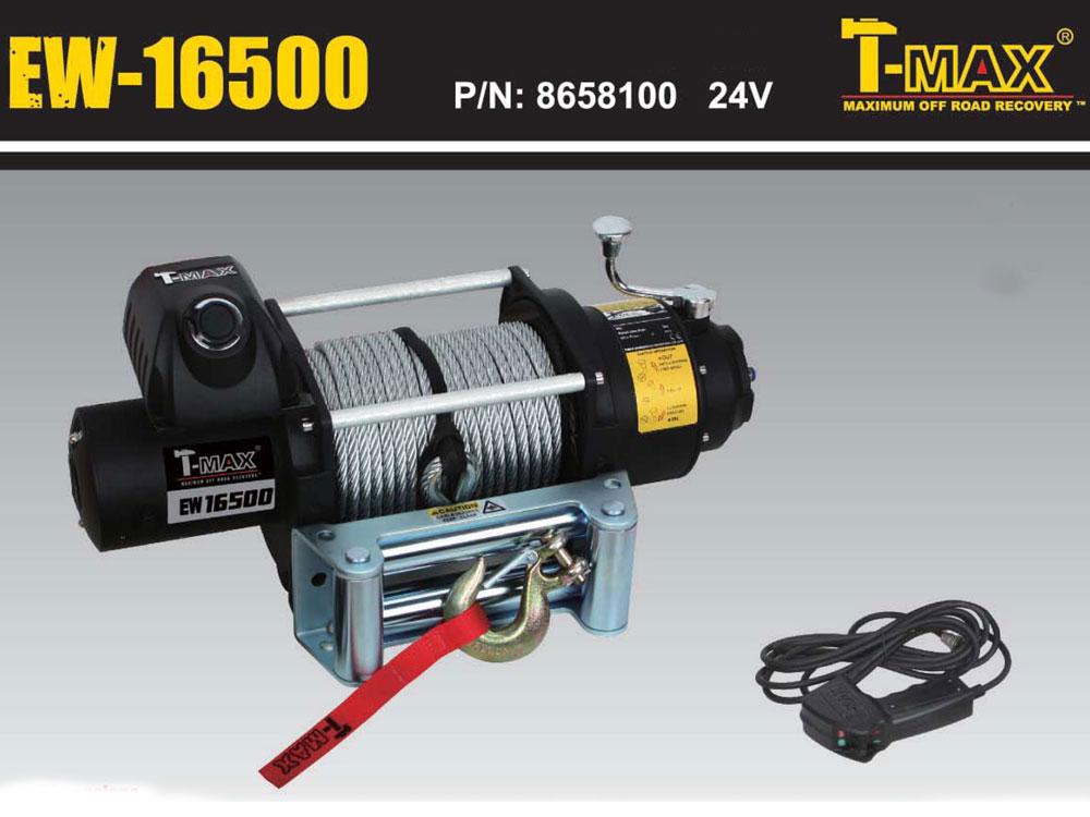 T-MAXハンマーマックス 電動ウインチ 24V 16500LBS Fireworks