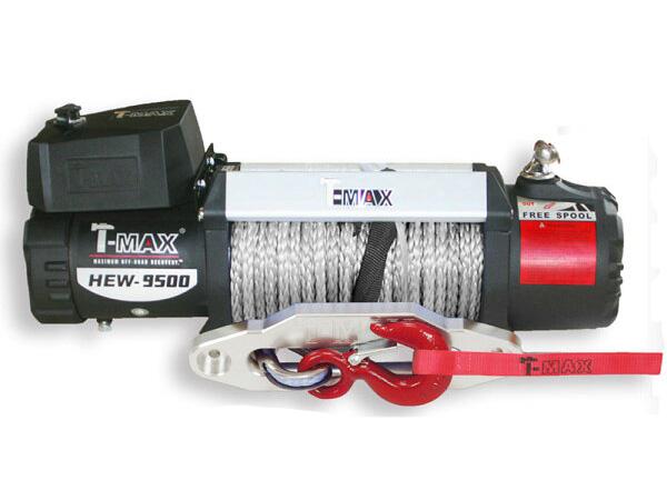 T-MAXハンマーマックス 電動ウインチ 12V 9500LBS X-Power ダイニーマロープ