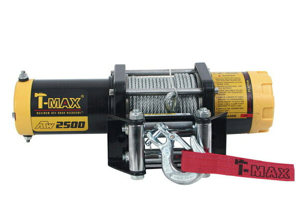 【沖縄・離島への配送不可】T-MAXハンマーマックス 電動ウインチ 12V 2500LBS ATWPRO