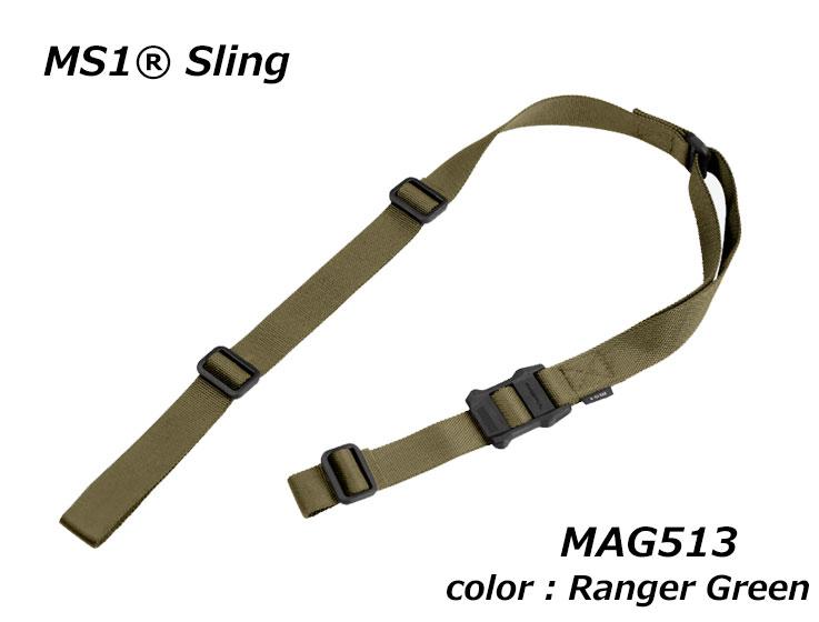 【沖縄・離島への配送不可】Magpul マグプル スリング MS1 Multi-Mission Sling Ranger Green