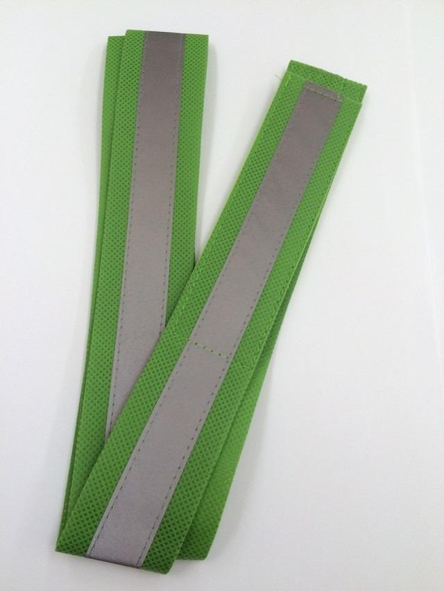 100本セット 反射 緑(黄緑)タスキ
