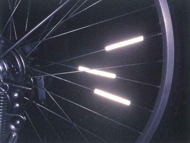100個セット 反射スポークスティック(3本セット)スポークリフレクター