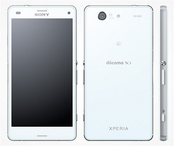 docomo Xperia Z3 Compact SO-02G ホワイト 本体のみ [Bランク] 【白ロム】