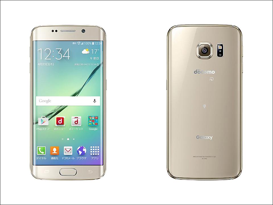 白ロム 中古 docomo Galaxy S6 SC-05G ゴールド 本体のみ [Bランク]