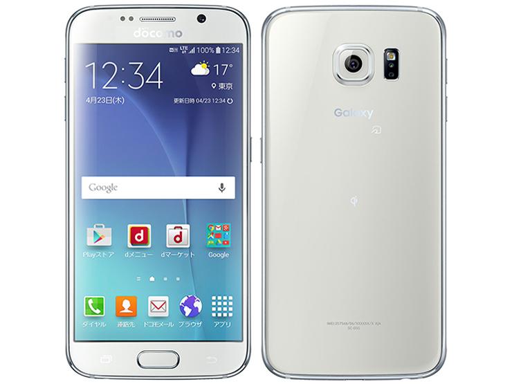 docomo Galaxy S6 SC-05G ホワイト 標準セット [Cランク]【白ロム】