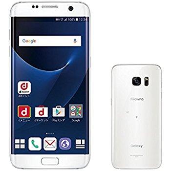 白ロム 中古 docomo Galaxy S7 edge SC-02H ホワイト 標準セット [訳あり]