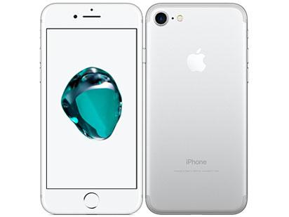 白ロム au iPhone 7 128GB シルバー 本体のみ [Bランク]