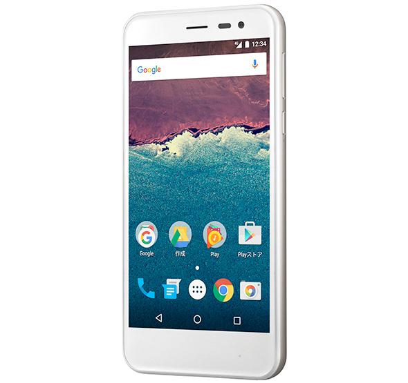 白ロム 中古 Ymobile Android One 507SH ホワイト 本体のみ [Bランク]