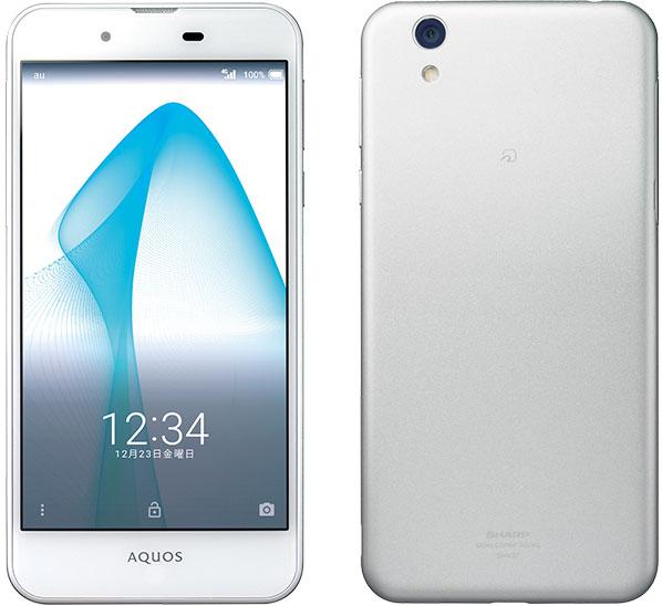 白ロム 中古 UQ mobile AQUOS L ホワイト 本体のみ [Cランク]