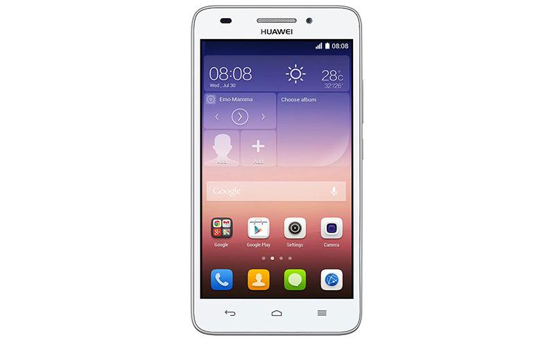 白ロム 中古 SIMフリー Huawei Ascend GS620S-L02 ホワイト 本体のみ [Bランク]