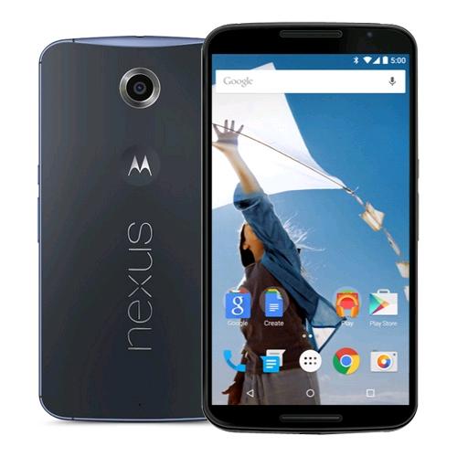 白ロム 中古 Nexus 6 XT1100 32GB ミッドナイトブルー 標準セット [Cランク]