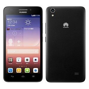SIMフリー Huawei Ascend G620S ブラック 標準セット  [Bランク] 【白ロム】