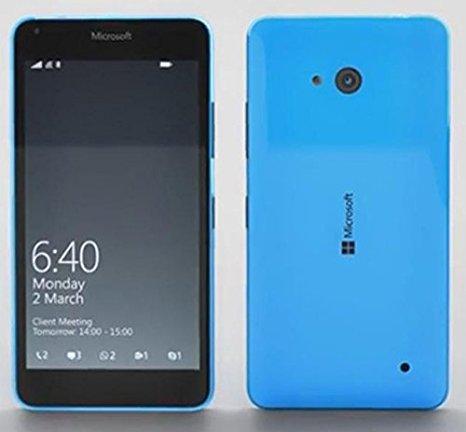 SIMフリー Microsoft Lumia 640 RM-1096 8GB ブルー 標準セット  [Bランク] 【白ロム】