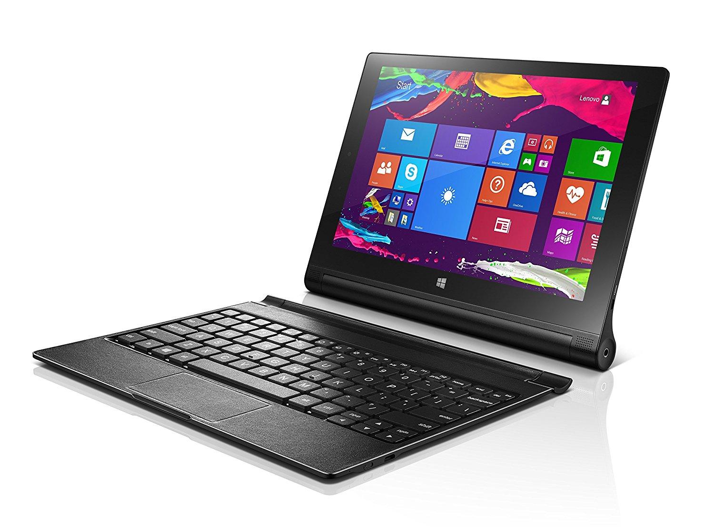 [新品 未使用品] Lenovo YOGA TABLET 2-1051L ブラック 標準セット 【白ロム】【タブレット】