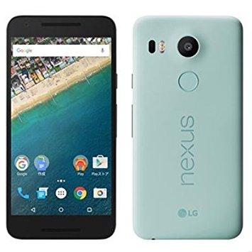 白ロム 中古 Y!mobile Nexus 5x LG-H791 16GB ブルー 本体のみ [Cランク]