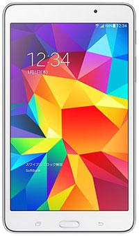 白ロム 中古 Samsung Galaxy Tab 4 ホワイト 本体のみ [Cランク]