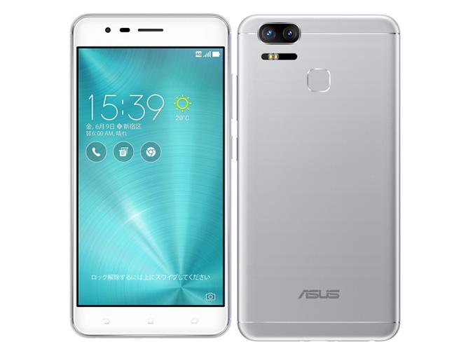白ロム 新品 未使用品海外版 ASUS ZenFone Zoom S ZE553KL シルバー 標準セット