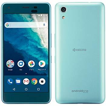 白ロム 中古 Y!mobile Android One S4 ブルー 本体のみ [Cランク]