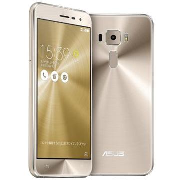 白ロム 中古 SIMフリー Zenfone 3 ZE520KL 32GB ゴールド 標準セット [Dランク]