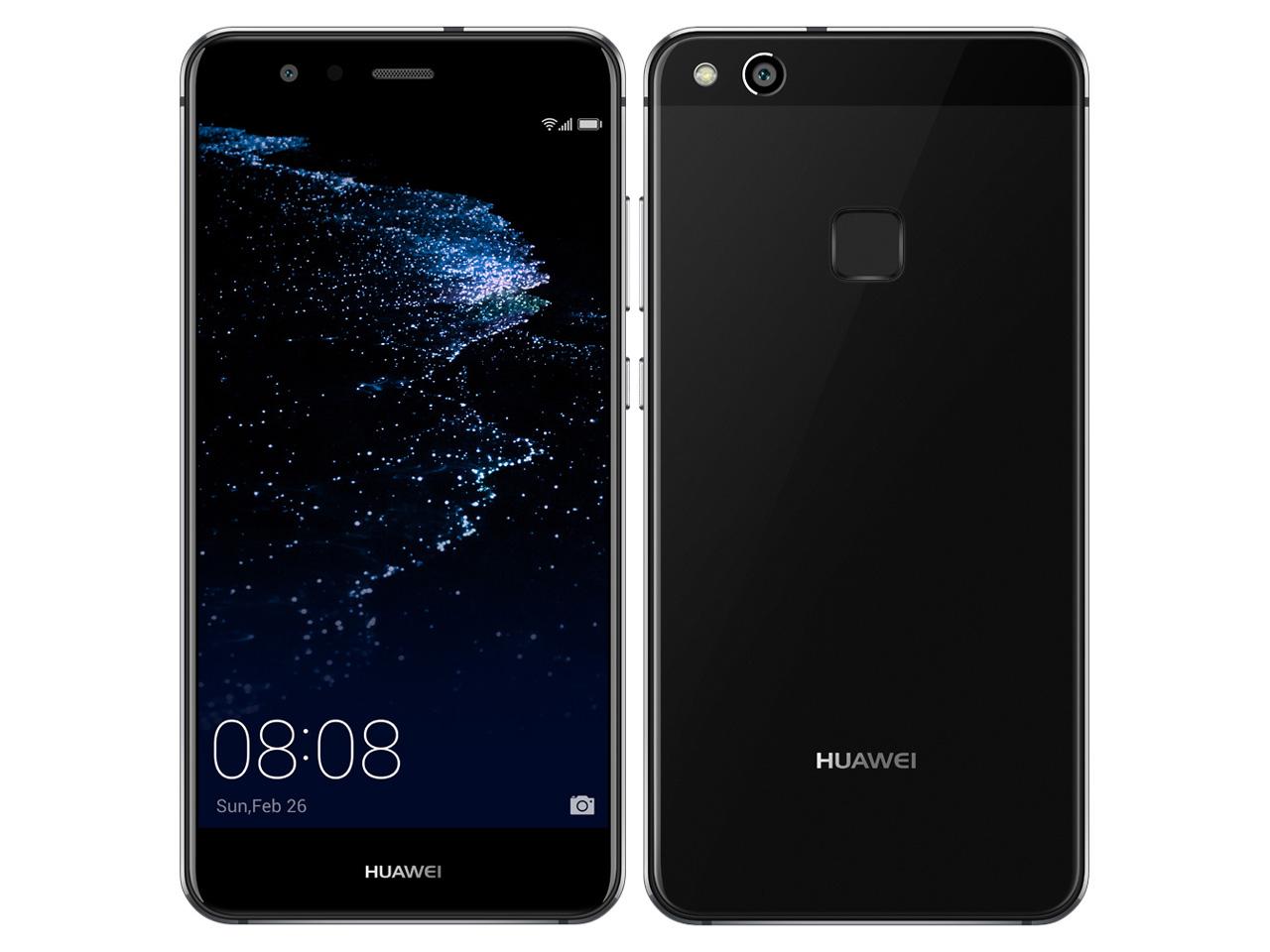 白ロム 新品 未使用品 UQ mobile HUAWEI P10 lite ブラック標準セット