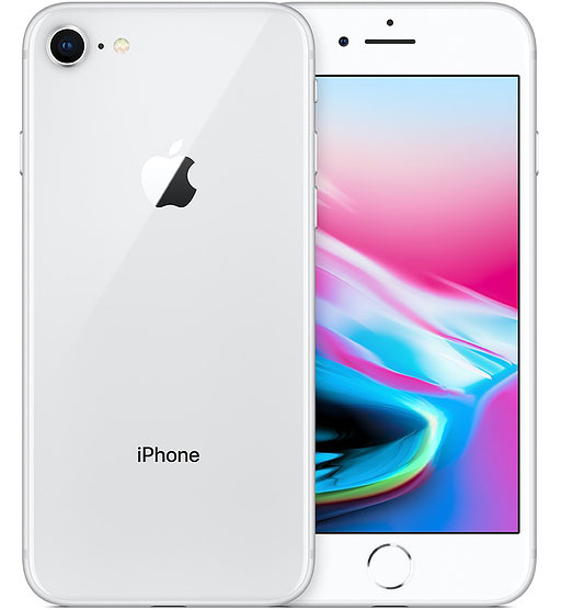 白ロム 中古 au iPhone8 64GB シルバー 本体のみ [Bランク]