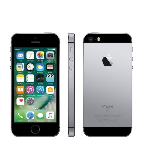 白ロム 中古 au iPhone SE 64GB グレイ 本体のみ [訳あり]