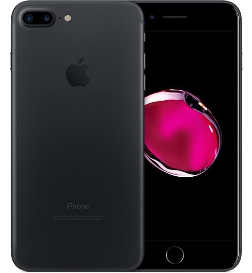 白ロム 新品 未使用品 au iPhone7 Plus 128GB ブラック 標準セット