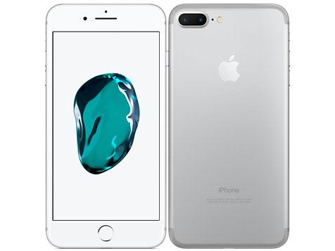 白ロム 新品 未使用品 au iPhone7 Plus 128GB シルバー 標準セット