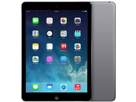 au iPad Air Wi-Fi+Cellularモデル 16GB グレイ 標準セット [Dランク] 【白ロム】【タブレット】【8/10 16:00~8/15 23:59までポイント5倍!!】