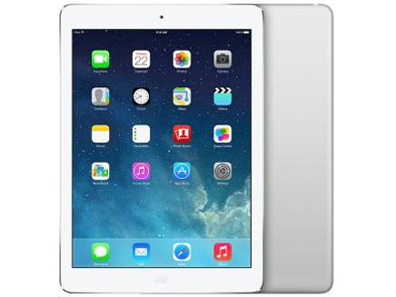 白ロム 中古 au iPad Air Wi-Fi+Cellular 16GB シルバー 標準セット [Cランク]