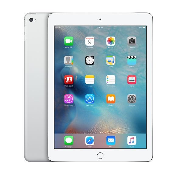 softbank iPad Air 2 Wi-Fi+Cellularモデル 16GB シルバー 標準セット  [Bランク] 【白ロム】【タブレット】【8/10 16:00~8/15 23:59までポイント5倍!!】