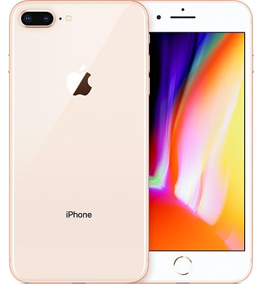 白ロム 中古 au iPhone8 Plus 64GB ゴールド 本体のみ [Cランク]