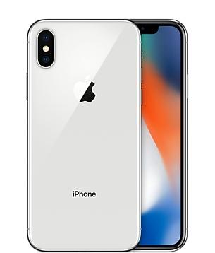 白ロム 中古 au iPhoneX 256GB シルバー 本体のみ [Cランク]