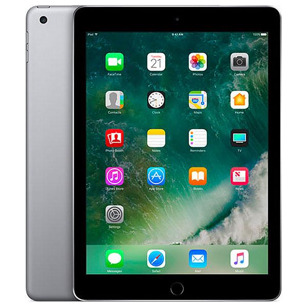 SoftBank iPad5 Wi-Fi+Cellularモデル 128GB グレイ 本体のみ [Cランク] 【白ロム】
